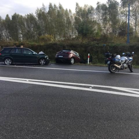 Na miejscu porannego sobotniego wypadku w Brodach w powiecie starachowickim