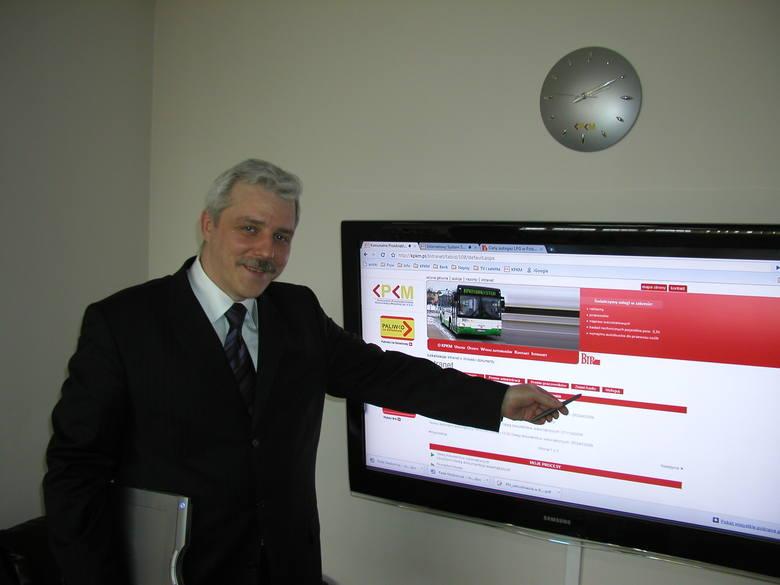 Dariusz Ciszewski znany jest ze swojego zamiłowania do nowinek technicznych