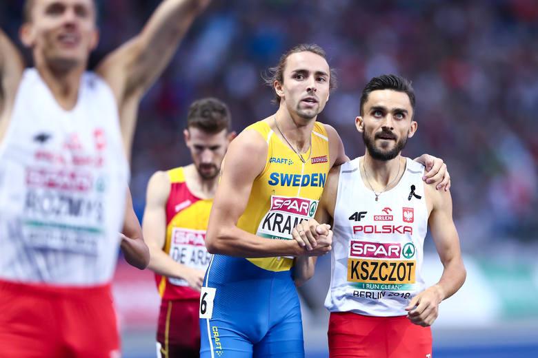 Adam Kszczot trzeci raz z rzędu został mistrzem Europy w biegu na 800 m! Po złotych medalach w Amsterdamie i Zurychu teraz dołożył złoto w Berlinie.