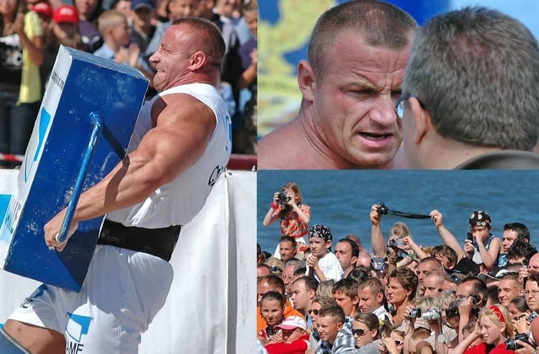 Przed laty olbrzymią popularnością w naszym regionie cieszyły się zawody siłaczy. Zmagania z udziałem najlepszych polskich zawodników odbywały się m.in.