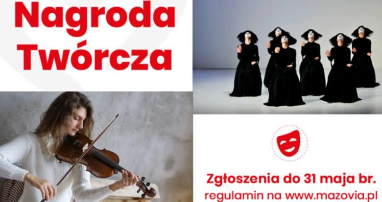 Samorząd Mazowsza ogłosił nabór wniosków do V edycji Nagrody Twórczej