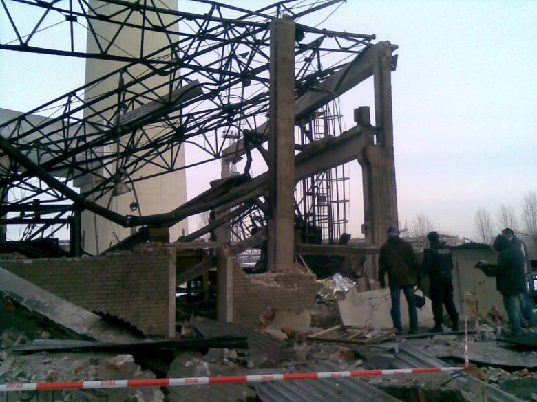 Wybuch w Dolnej Odrze
