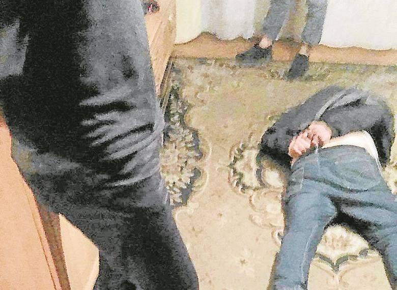 Policjanci obezwładnili bandytę