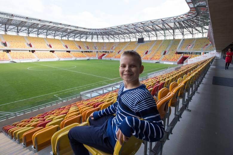 Szymon Matowski jest milionowym gościem Stadionu Miejskiego w Białymstoku