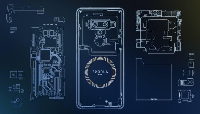 Exodus 1, zeszłoroczny smartfon HTC, to początek nowego, bezpiecznego internetu?
