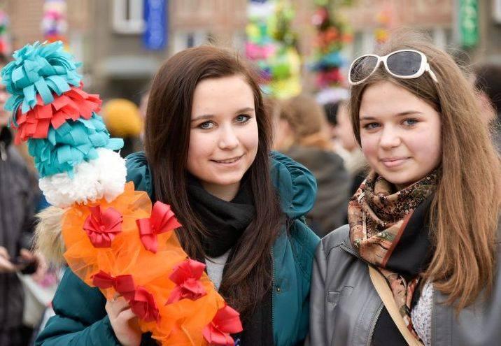 Niedziela Palmowa. Festiwal Palm (zdjęcia)