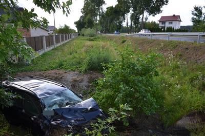 Tragiczny bilans weekendu na drogach powiatu wyszkowskiego. Wypadek w Łosinnie