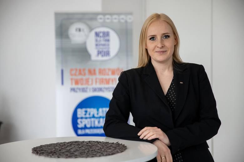 Izabela Lewandowska, Biuro Prasowe Narodowego Centrum Badań i Rozwoju