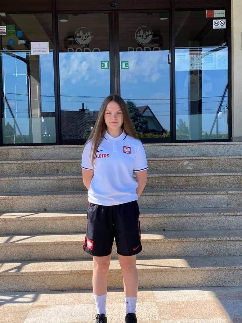 Gabriela Kwitkowska, zawodniczka SMS Siarki Tarnobrzeg, dostała powołanie do reprezentacji Polski u15