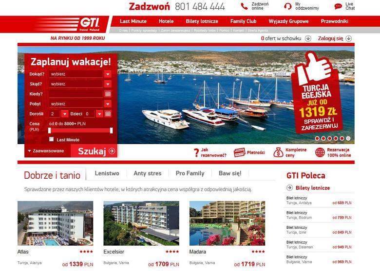 W 2013 roku upadło biuro podróży GTI Travel Poland, specjalizujące się w wyjazdach do Turcji. Według informacji Radia PiN, za granicą przebywało wtedy