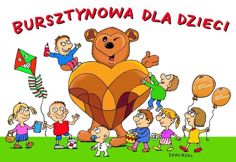 Miś Bursztynek - maskotka Galerii Bursztynowej w Ostrołęce - śpiewa! [WIDEO]