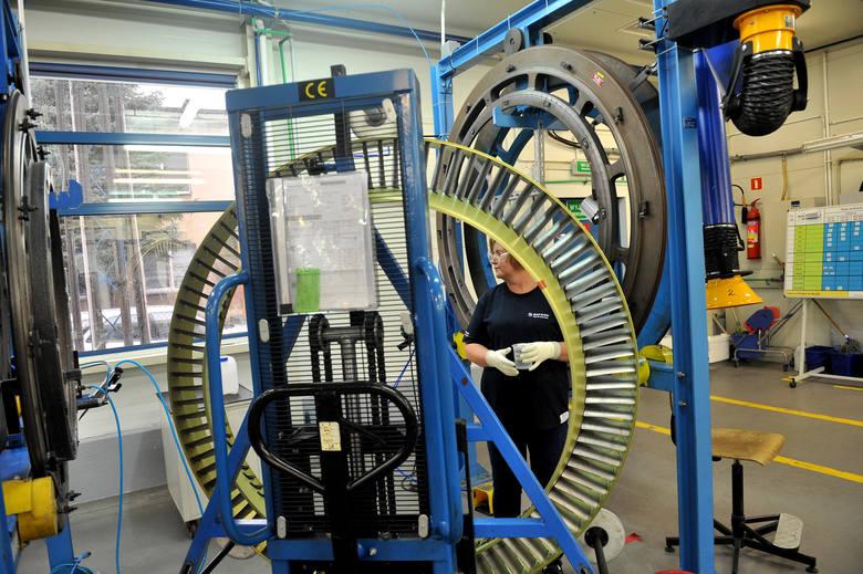 Fabryka Safran Transmission Systems Poland w Sędziszowie Młp., która produkuje komponenty do silników lotniczych.