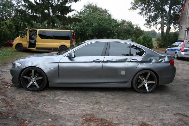 Chcieli wyłudzić odszkodowanie! Uszkodzili własne BMW warte 100 tys. złotych