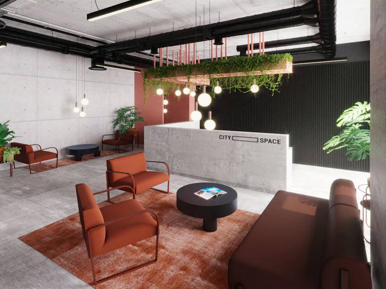 Tak będzie wyglądać CitySpace w biurowcu Face2Face