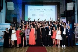 Rozdano nagrody dla najlepszych firm ślubnych w ogólnopolskim plebiscycie Gala Branży Weselnej 2017