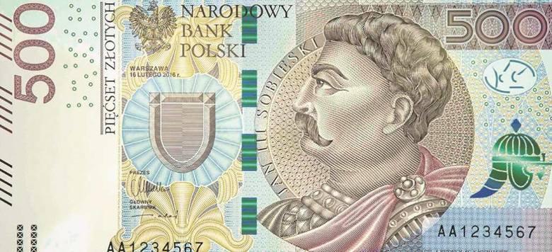 Rząd nie chciał wejścia do obiegu banknotu o nominale 500 złotych