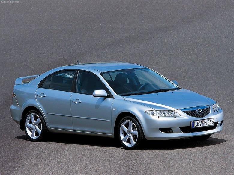 Mazda 6 I (2002-2007)Mazda 6 I – model produkowany jako następca Mazdy 626. Samochód osobowy klasy średniej. Zdobywca drugiego miejsca w plebiscycie