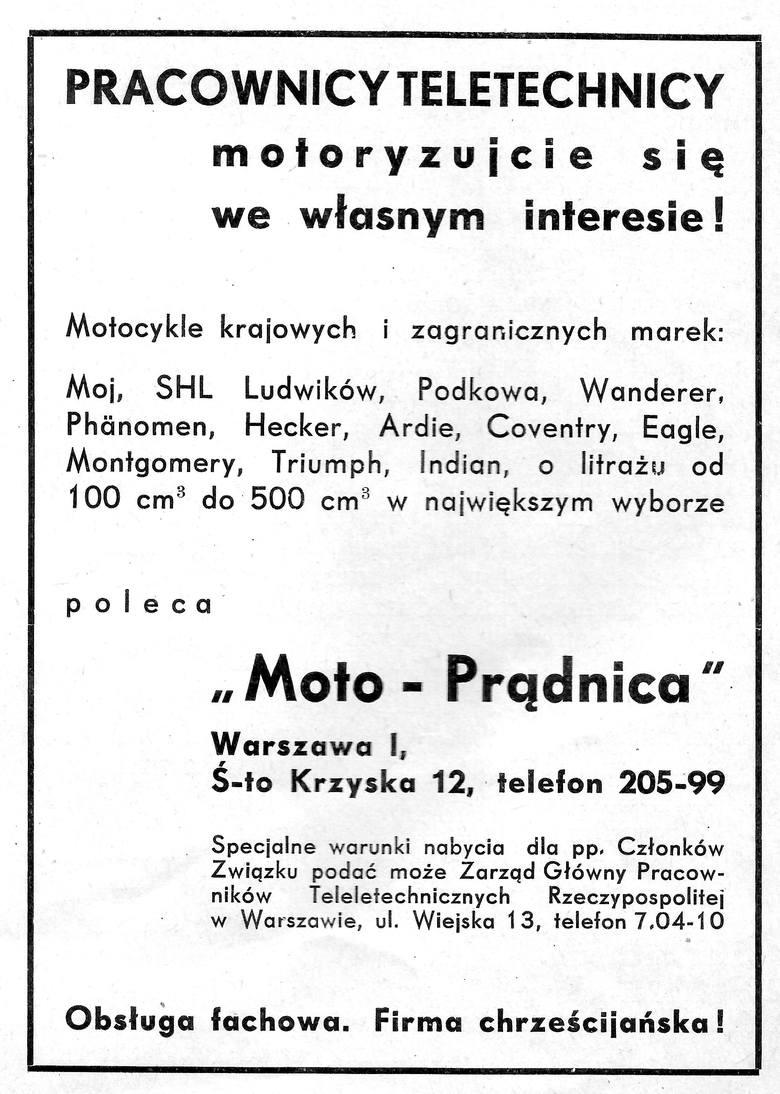 Centrum Warszawy około roku 1938. Znaczna większość spośród zarejestrowanych w Polsce (wg stanu na 1.10.1938) 41 882 samochodów i 13 485 motocykli koncentrowała