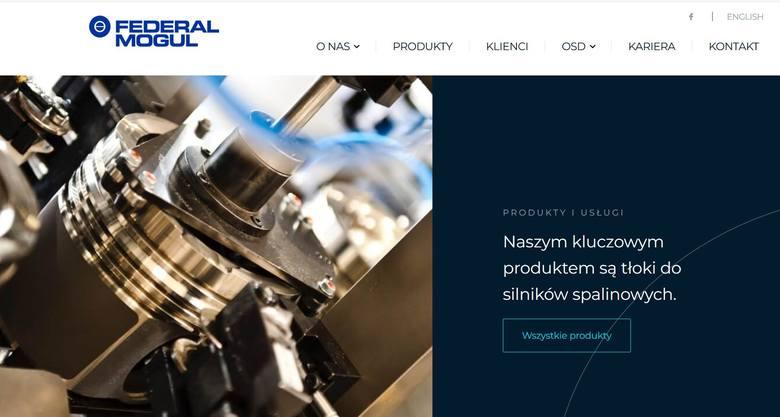 Zakład Federal-Mogul Gorzyce wstrzymuje produkcję, pracownicy od poniedziałku 23 marca pójdą na urlop