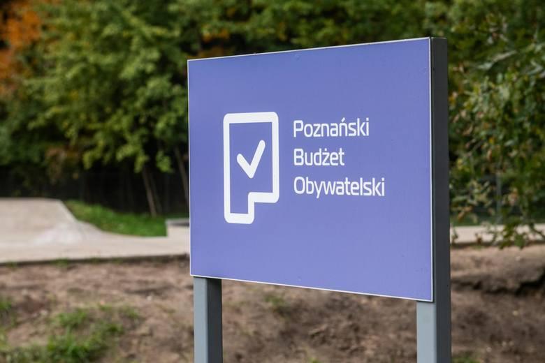 Coraz więcej ciekawych i służących mieszkańcom inwestycji finansowanych jest z Poznańskiego Budżetu Obywatelskiego - wskazują je sami mieszkańcy i oni