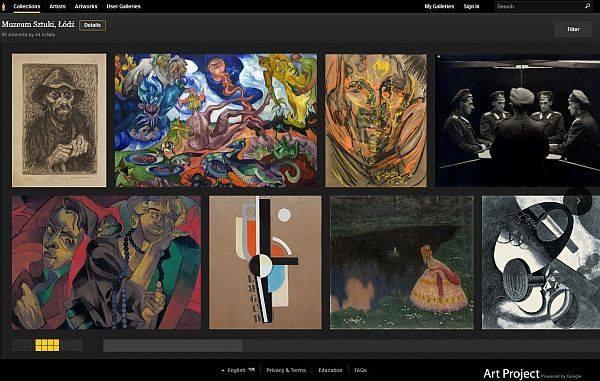 Muzeum Sztuki w Łodzi znalazło się w Google Art Project.