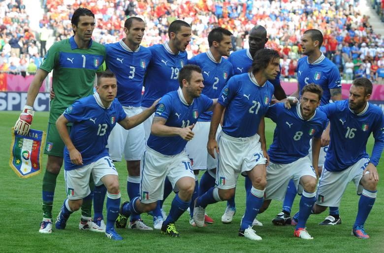 Włosi zremisowali 1:1 z Chorwacją.