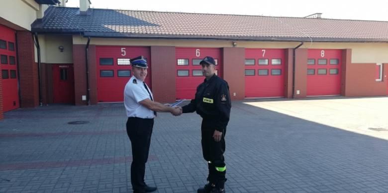 25 lat wzorowej służby w rypińskiej straży pożarnej
