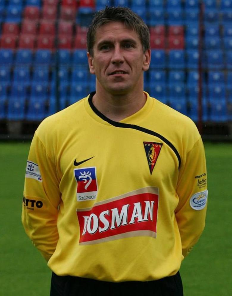 Krzysztof Pyskaty – pół roku po finale odszedł z Pogoni i grał jeszcze trochę na południu Polski.