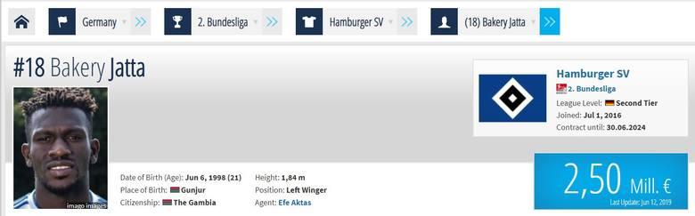 Bakery Jatta nie istnieje? Piłkarz HSV Hamburg mógł sfałszować swoją tożsamość i datę urodzenia przy wjeździe do Niemiec