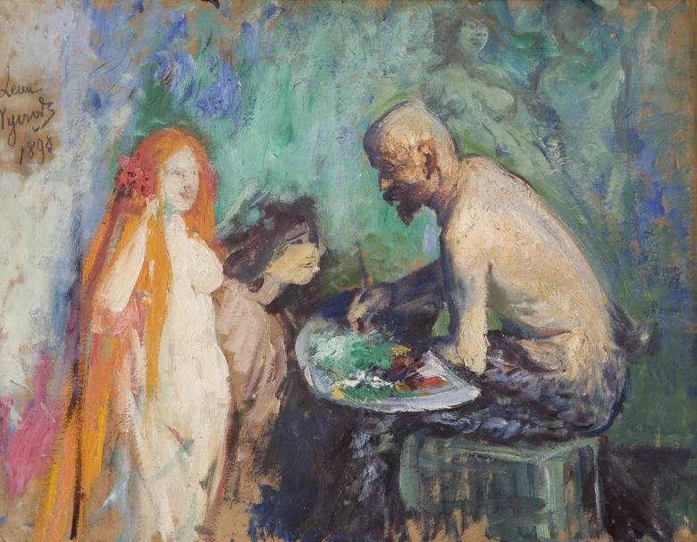 Szampan, anioł i zwiędłe róże. Niezwykła wystawa w Złotej Bramie w Gdańsku