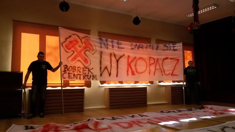 Protest w Bytomiu