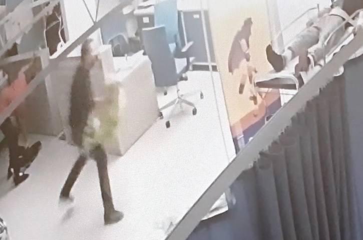W szpitalu w Częstochowie mężczyzna rzucił się z nożem na pielęgniarkę