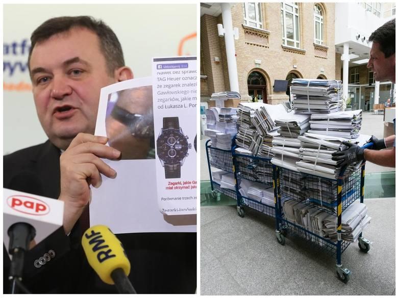 400 tomów akt trafiło właśnie do sądu w sprawie afery melioracyjnej. Stanisław Gawłowski oficjalnie oskarżony