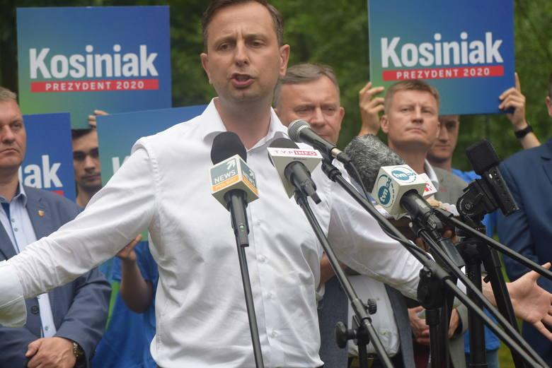 """Na początku swojego emocjonalnego wystąpienia stwierdził, że jeśli obejmie najwyższy urząd w Polsce to """"precyzyjnie zszyje nicią chirurgiczną"""