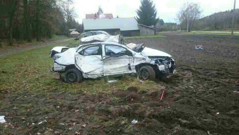 Tragiczny wypadek w Kozodrzy. Zginęła młoda kobieta