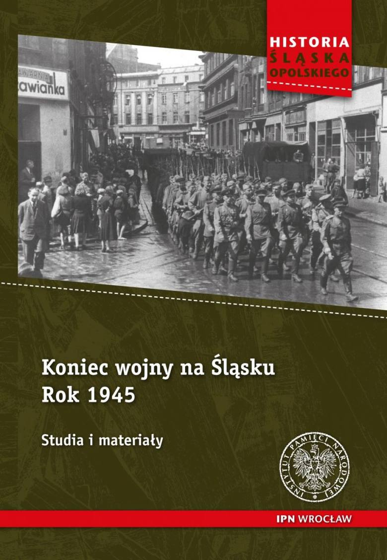 Okładka książki Koniec wojny na Śląsku