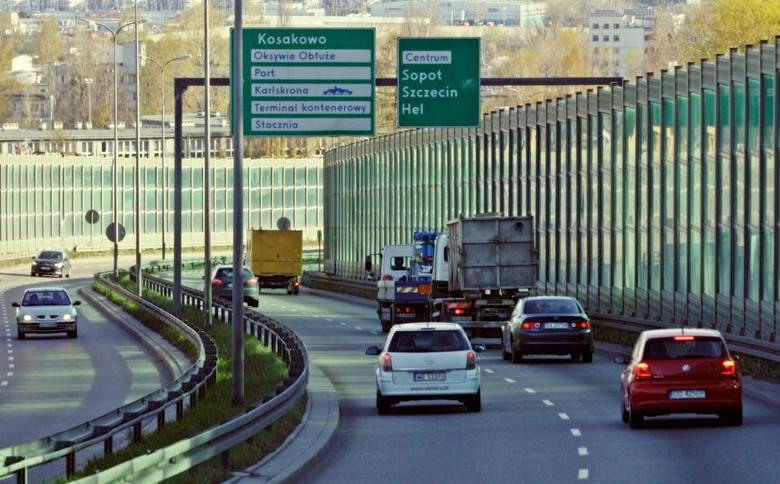 Trasa Kwiatkowskiego w Gdyni zamknięta na czas remontu