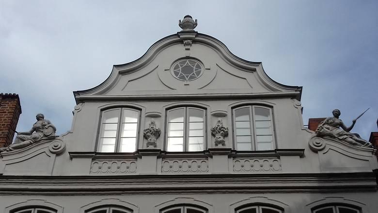 Dom Buddenbrooków, w którym dzieje się akcja powieści Thomasa Manna