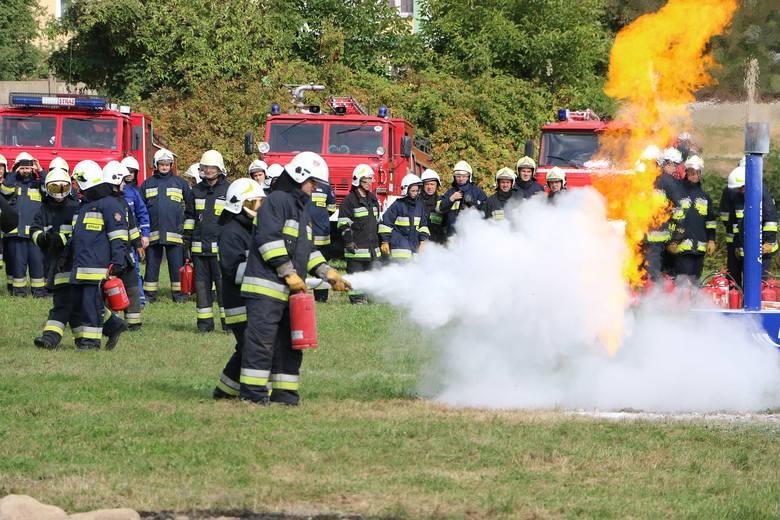 Jak się gasi płonący gaz? Najlepiej ręczną gaśnicą proszkową