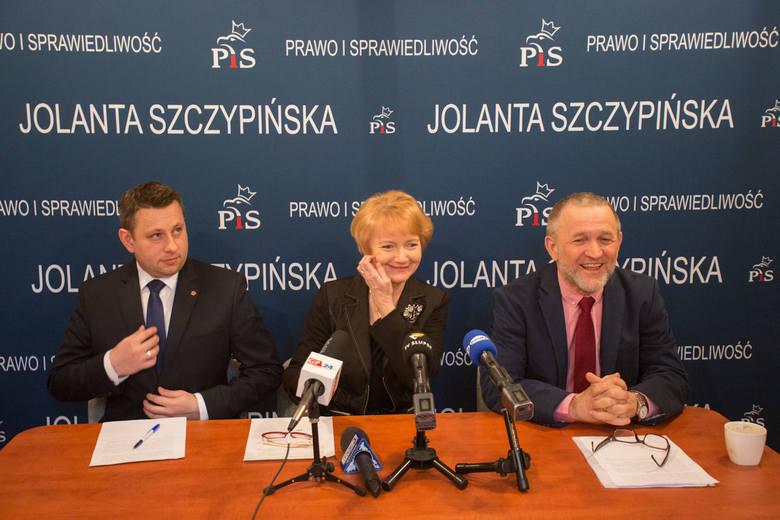 Konferencja PiS w sprawie reformy oświaty.