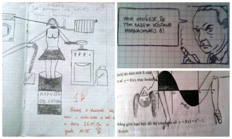 Nowe śmieszne hity z klasówek, kartkówek i sprawdzianów 2021. Nauczyciele płakali ze śmiechu podczas sprawdzania. Tego nie da się odzobaczyć. Zabawne
