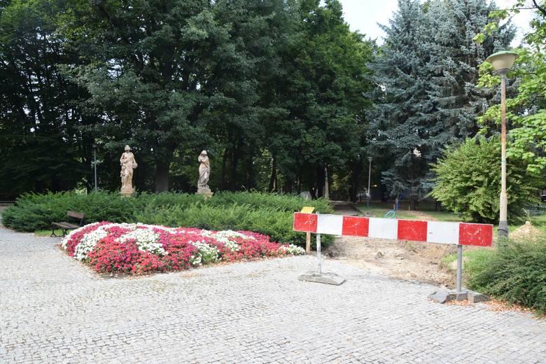 Remont parku przy ul. Dąbrowskiego w Rzeszowie. Galeria zdjęć.