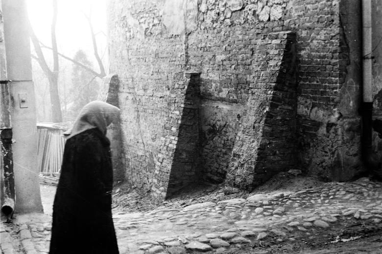 Tak ulica Dolna Panny Marii wyglądała w 1984 roku