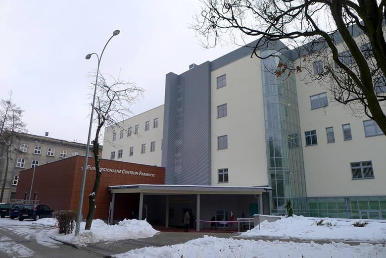 Euroregionalne Centrum Farmacji UMB przy ulicy Akademickiej