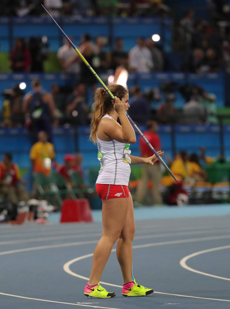 Maria Andrejczyk gwiazdą igrzysk w Rio 2016. Zobacz zdjęcia pięknej oszczepniczki (zdjęcia)
