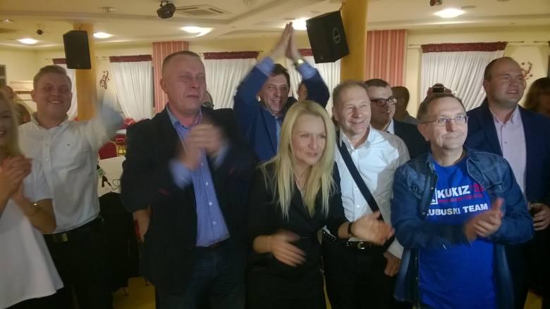 Zadowoleni z osiągniętego wyniku są lubuscy przedstawiciele komitetu Kukiz'15.