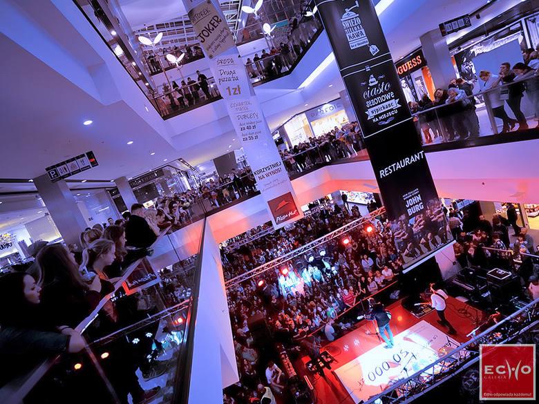 Przyjdź na Noc Zakupów i koncert do Galerii Echo w Kielcach