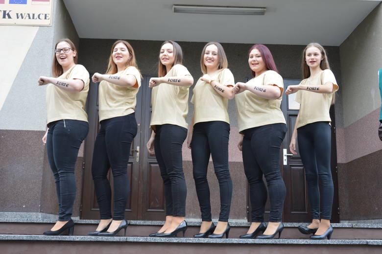 """- Nie jesteśmy głośne, ale jesteśmy przebojowe - mówią dziewczyny z zespołu """"Forte"""". Jury przyznało im """"Srebrne Pasmo""""."""