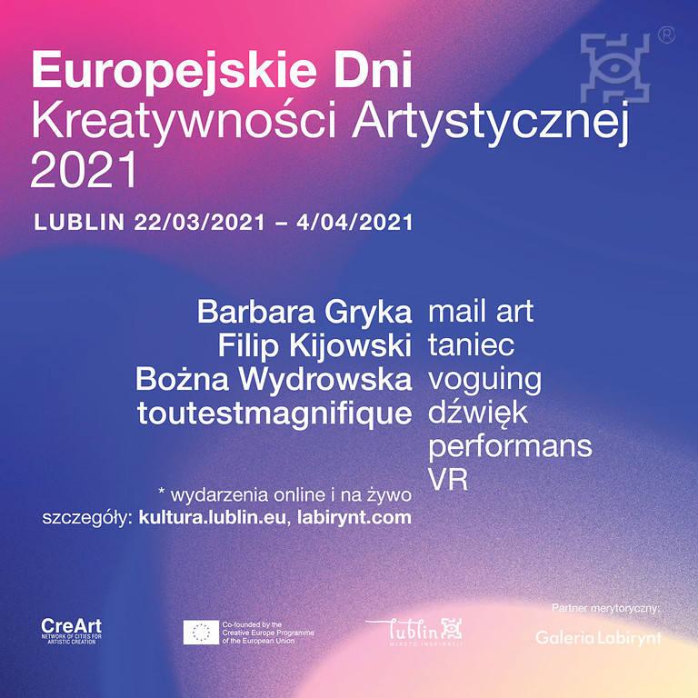 Ruszają Europejskie Dni Kreatywności Artystycznej 2021