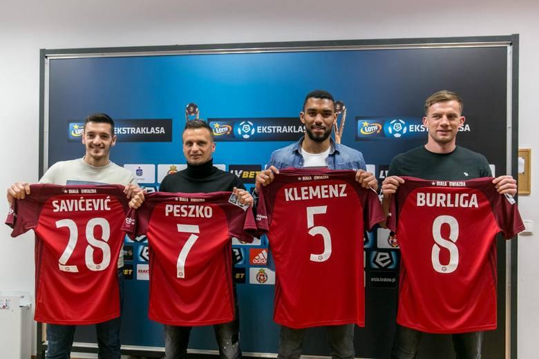 Wisła Kraków zaprezentowała nowych piłkarzy przed rundą wiosenną [ZDJĘCIA]